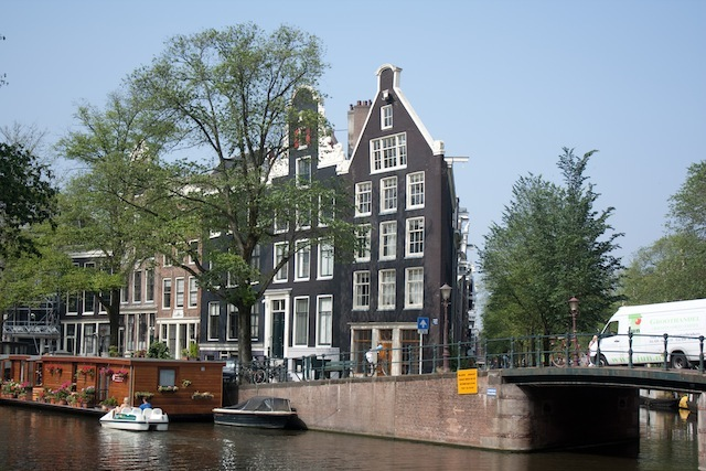 Cases i canals d'Amsterdam