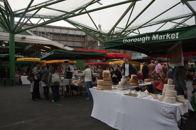 Londres en 4 días: Mercado de Borough de Londres