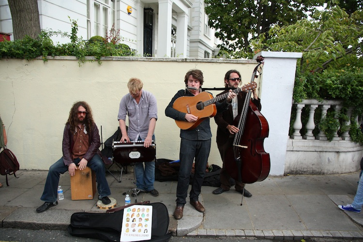 The Ryan O'Reilly Band a Notting Hill