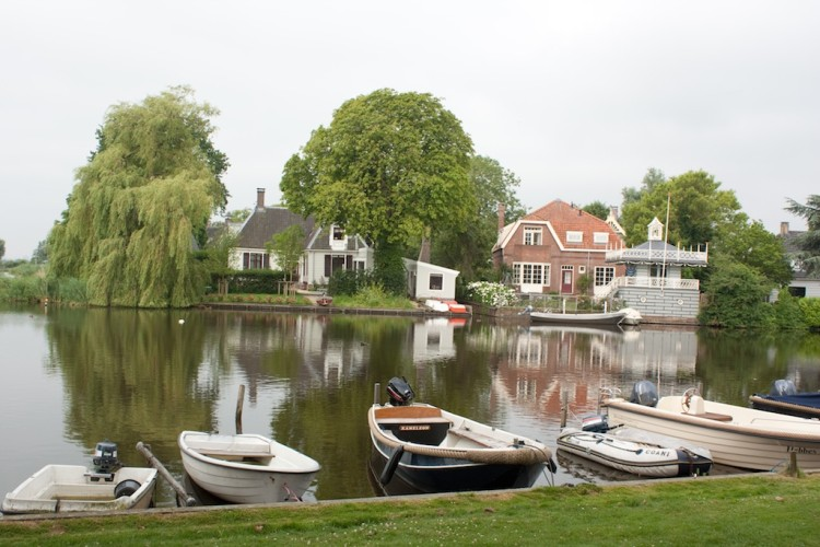 Villages near Amsterdam: Broek in Waterland