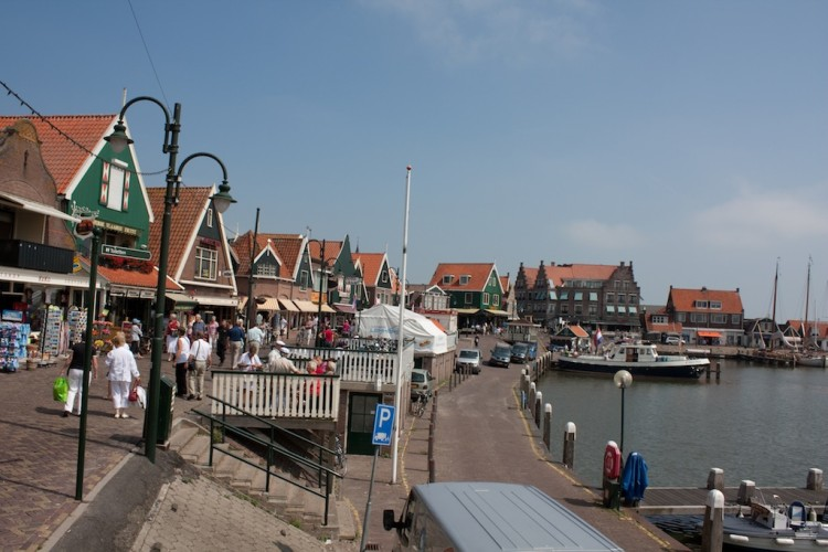Beautiful towns near Amsterdam: Volendam