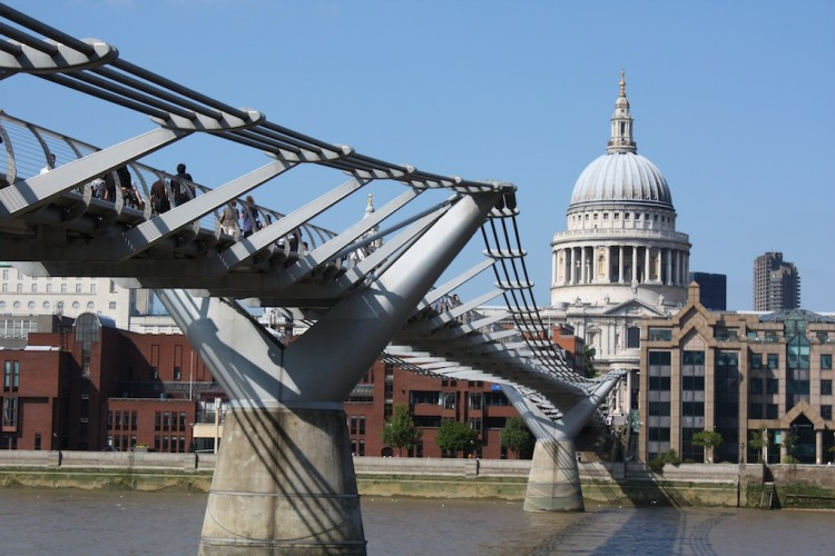 Londres en 4 días: Millenium bridge y la Catedral de St.Paul