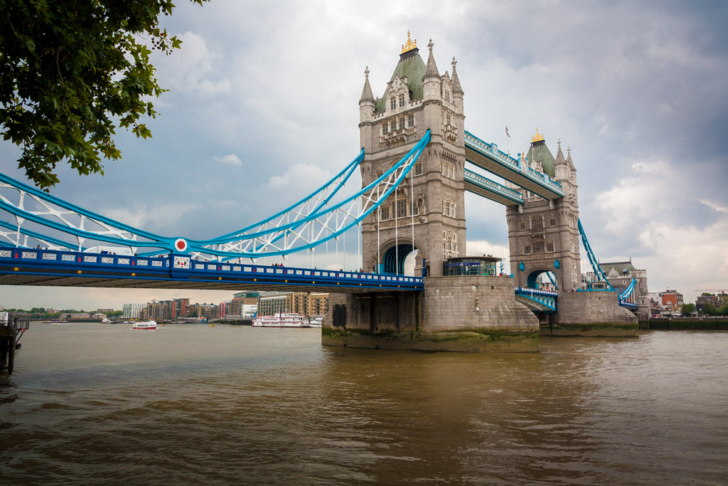 Puente de Tower Bridge en Londres