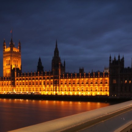 Big Ben i Parlament de nit