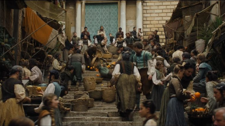 Locations of Game of Thrones in Girona: streets where Arya flees