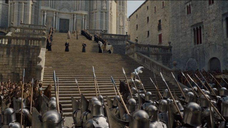 Locations of Game of Thrones in Girona: The Great Sept